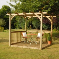 illustration pergola 15m2