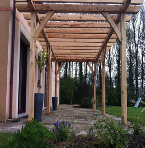 illustration pergola 1m50
