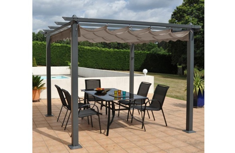 pergola 3 x 4 m ma pergola. Black Bedroom Furniture Sets. Home Design Ideas