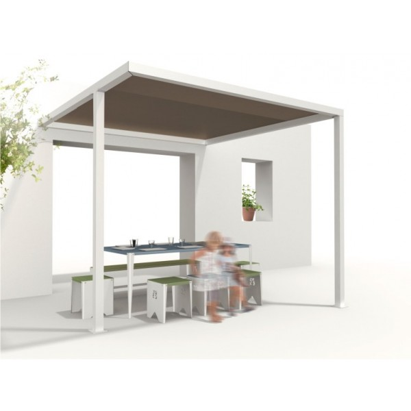 visualiser pergola 3x3