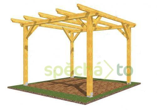 visualiser pergola 3x4m