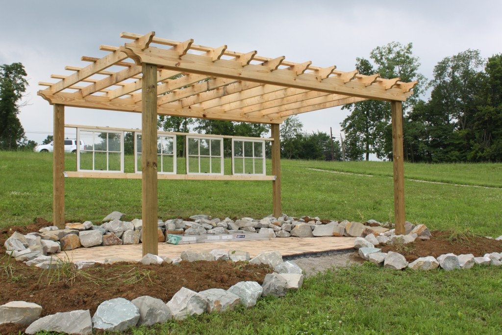 visualiser pergola 4 x 6