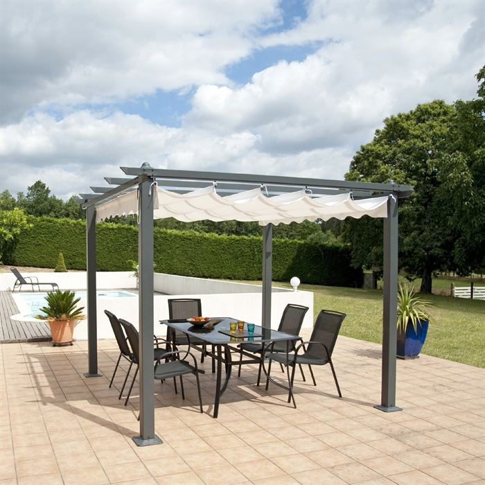 illustration pergola 4m x 3m