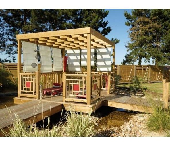 visualiser pergola 5m x 3m