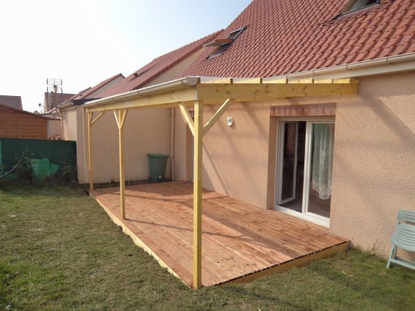visualiser pergola 6m