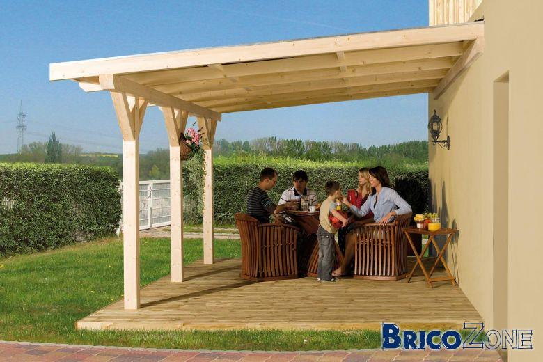 visualiser pergola 6m x 4m
