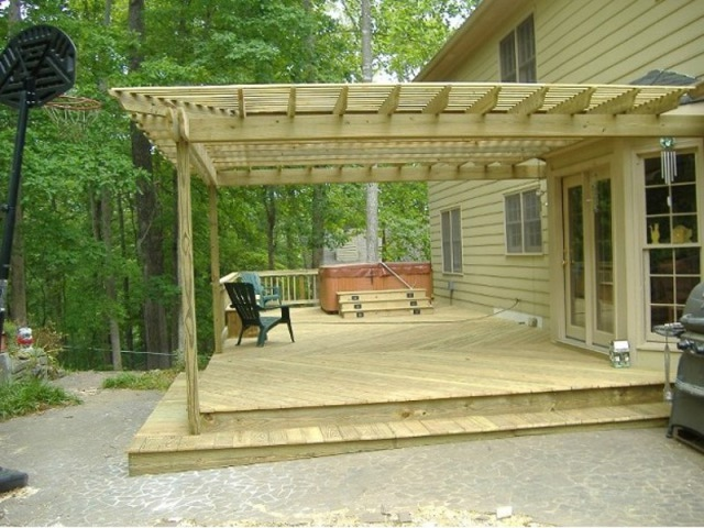 visualiser pergola 6x6