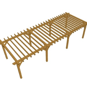 illustration pergola 9m