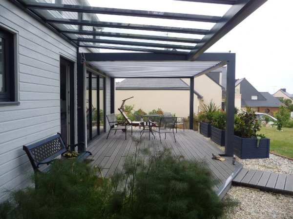 photo pergola alu sur mesure
