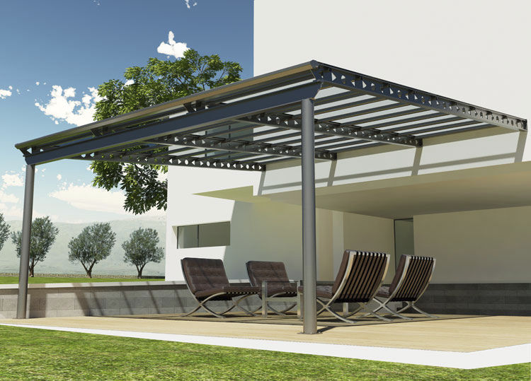 visualiser pergola aluminium