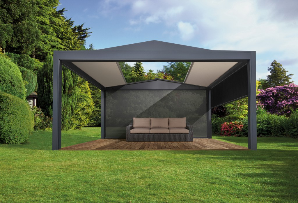 visualiser pergola avec store