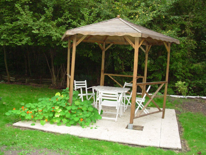 photo pergola demontable