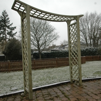 photographie pergola double