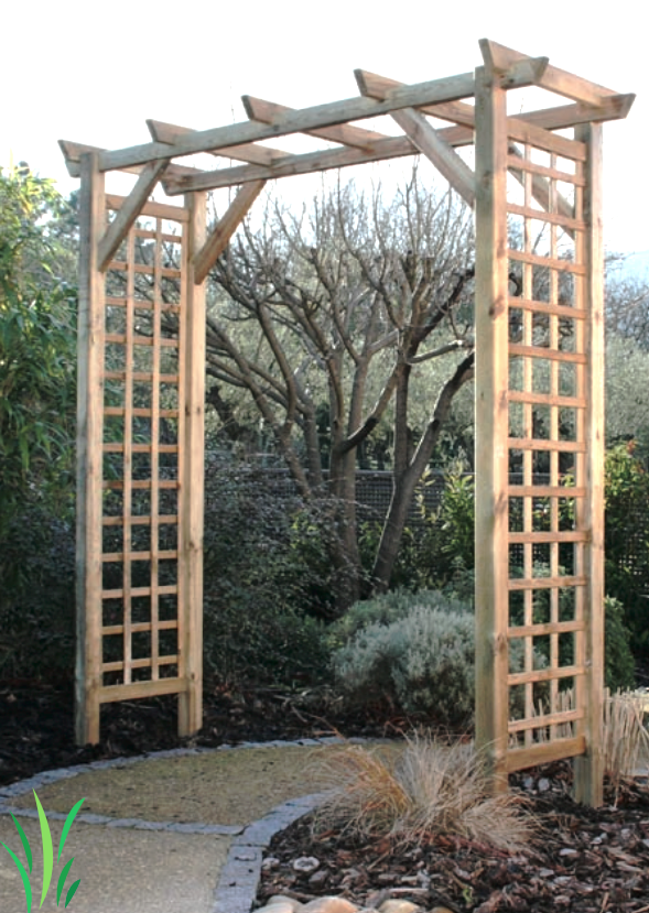 visualiser pergola double