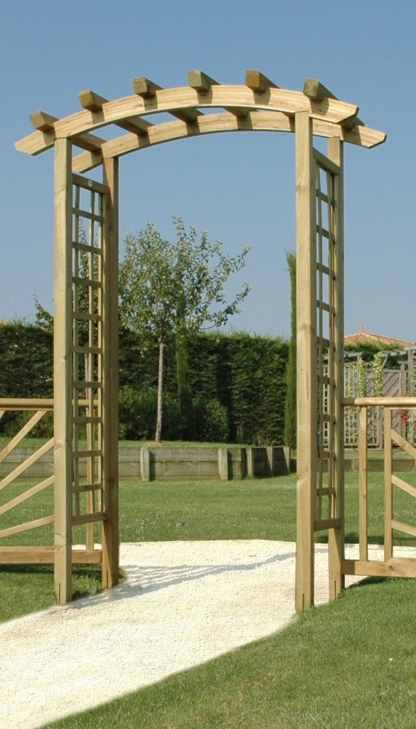 photo pergola double arc
