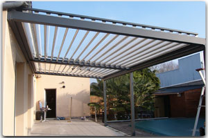 photo pergola electrique