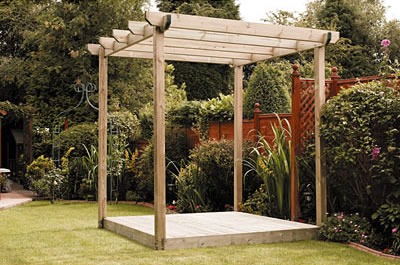 illustration pergola en kit