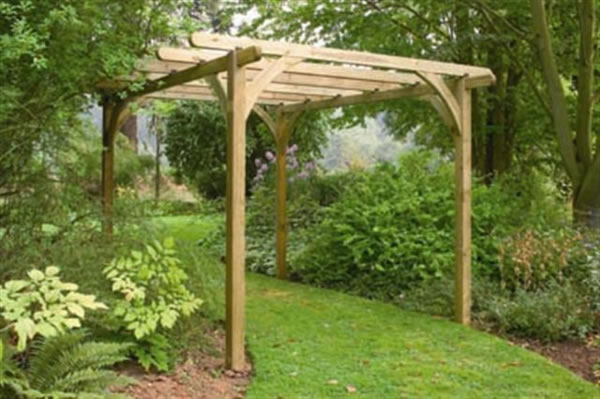 photographie pergola en kit
