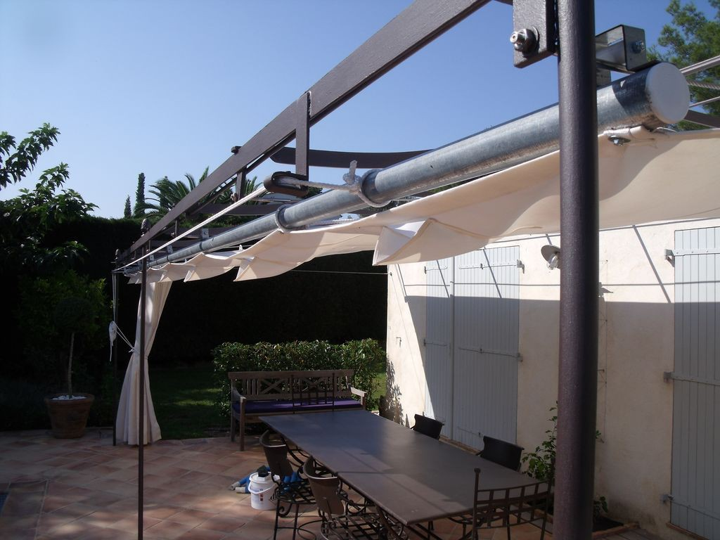 visualiser pergola ferronnerie