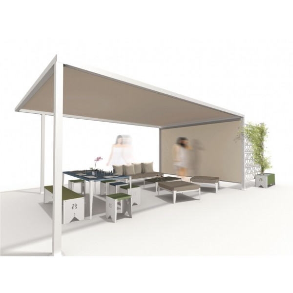 visualiser pergola fixe