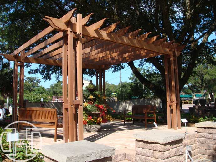 illustration pergola gazebo