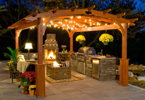 visualiser pergola gazebo