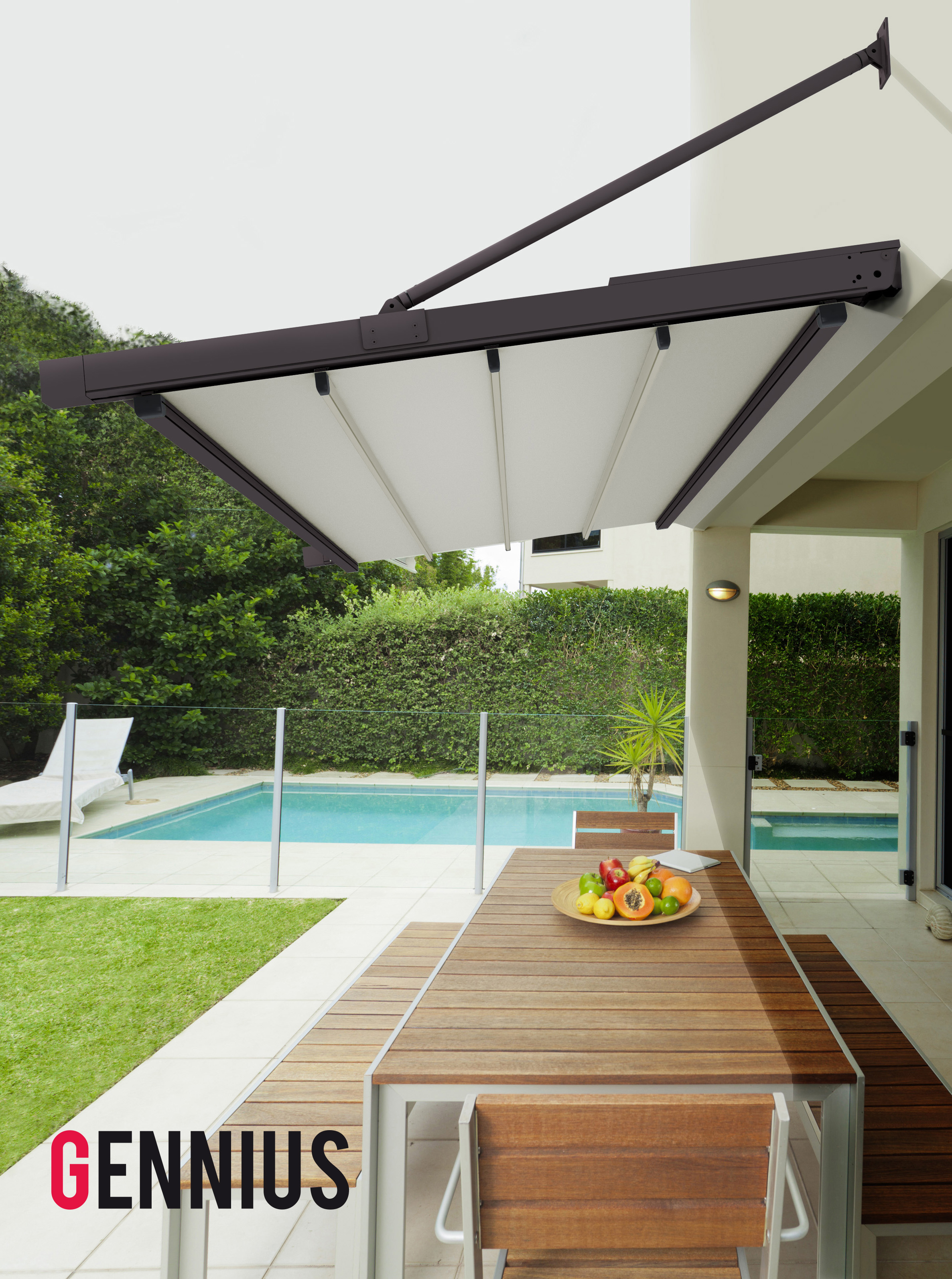 pergola alu sans pied. Black Bedroom Furniture Sets. Home Design Ideas