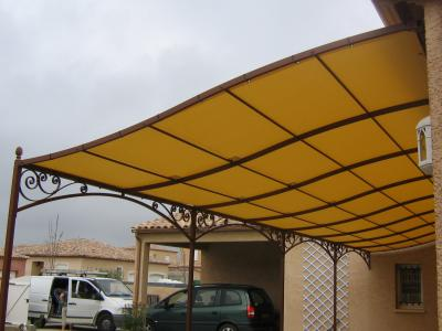 superbe pergola grande dimension