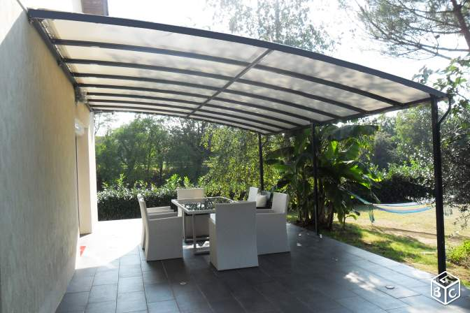 photo pergola impermeable