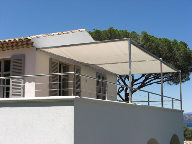 visualiser pergola inox