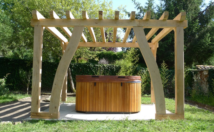 illustration pergola jacuzzi