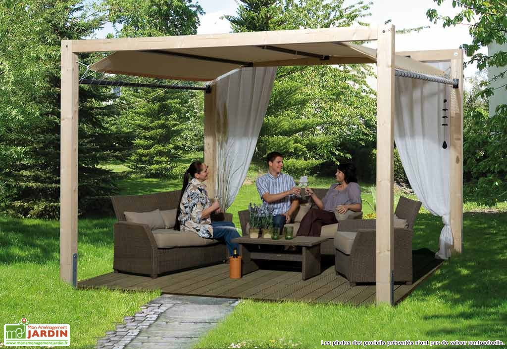 exemple de pergola en bois interesting exemple de pergola en bois with exemple de pergola en. Black Bedroom Furniture Sets. Home Design Ideas
