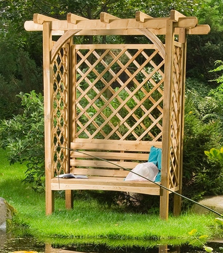 pergola jardin bois ma pergola. Black Bedroom Furniture Sets. Home Design Ideas