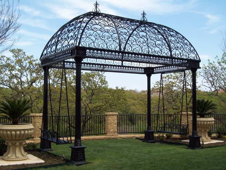 photo pergola kiosque gloriette