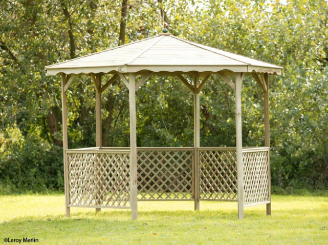 pergola kiosque gloriette ma pergola. Black Bedroom Furniture Sets. Home Design Ideas