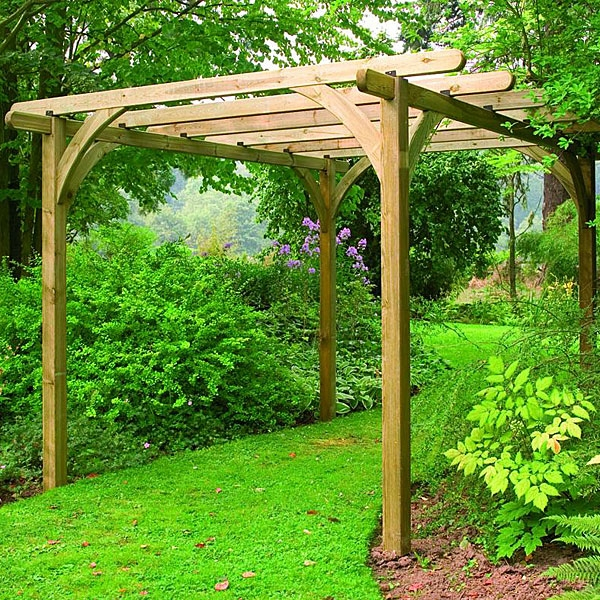 illustration pergola kit