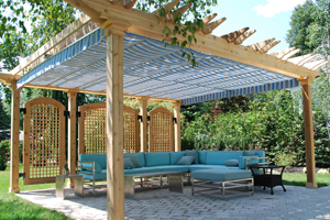 visualiser pergola kit