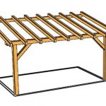 illustration pergola kit bois