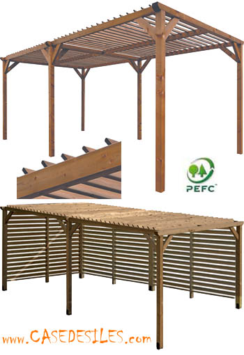 pergola kit bois ma pergola. Black Bedroom Furniture Sets. Home Design Ideas