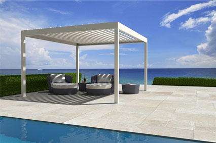 photo pergola lame orientable