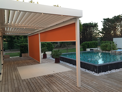 visualiser pergola luxe