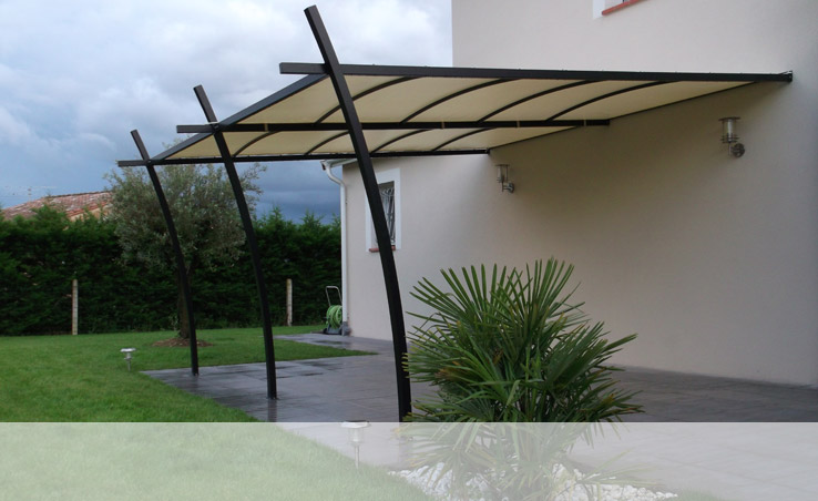 pergola murale ma pergola. Black Bedroom Furniture Sets. Home Design Ideas