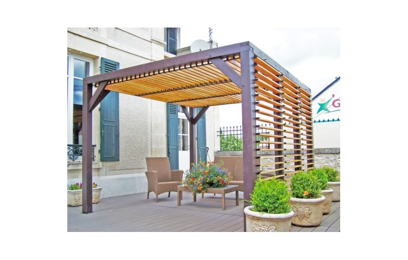 illustration pergola ombra