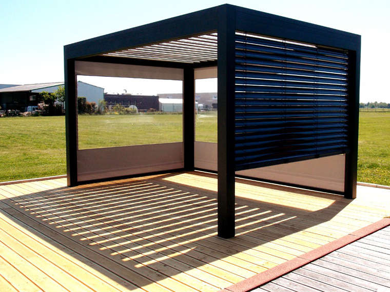 visualiser pergola open