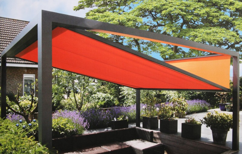 illustration pergola originale