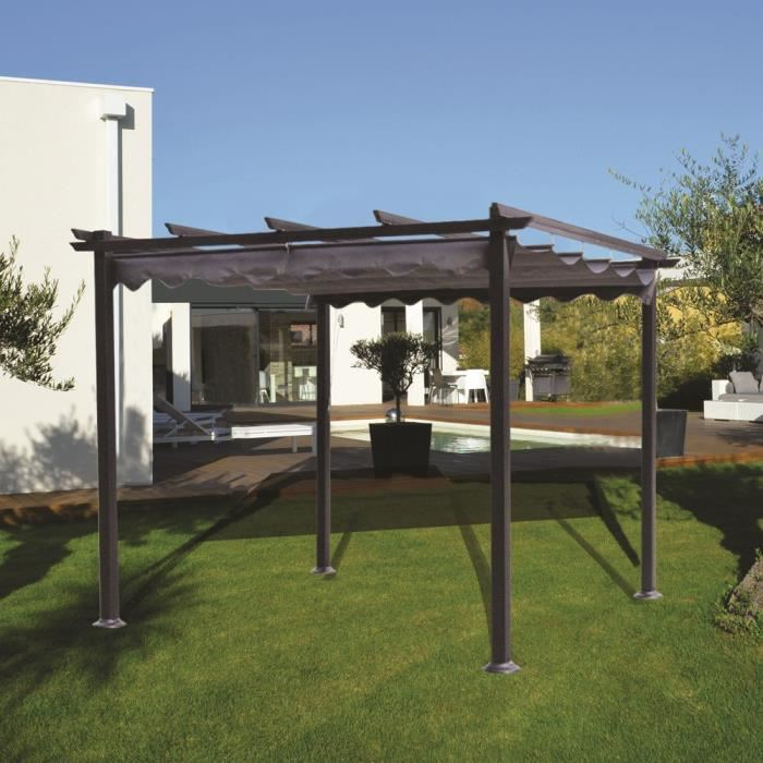pergola ou tonnelle ma pergola. Black Bedroom Furniture Sets. Home Design Ideas