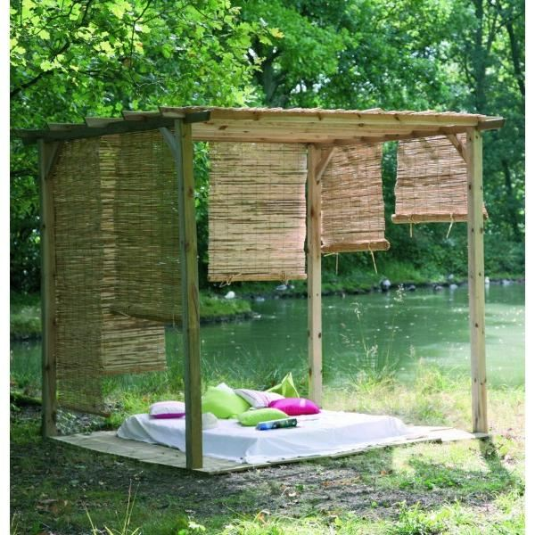 pergola bois pas cher tours design. Black Bedroom Furniture Sets. Home Design Ideas