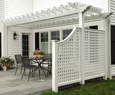 illustration pergola pvc