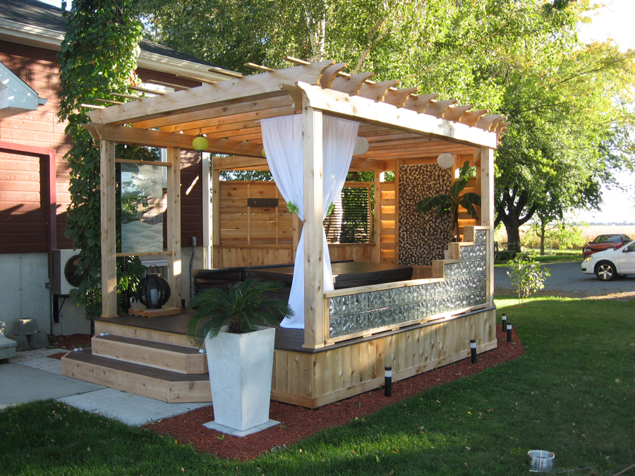 photo pergola quebec
