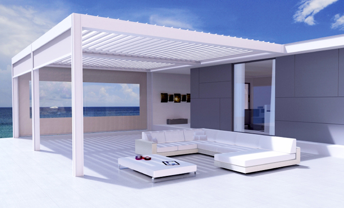 pergola renson ma pergola. Black Bedroom Furniture Sets. Home Design Ideas